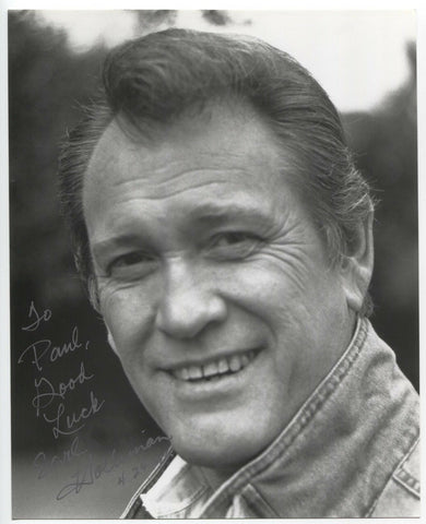 Earl Holliman Signed 8x10 Inch Photo Autographed Vintage Signature