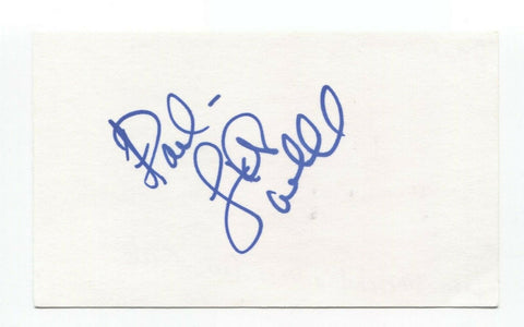 Lisa Whelchel Signed 3x5 Index Card Autographed Actress Facts of Life