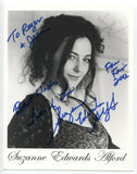 Suzanne Edwards Alford Signed 8x10 Inch Photo Autographed Signature Country