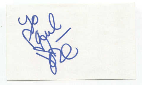 By Divine Right - Jose Miguel Contreras Signed 3x5 Index Card Autographed Band