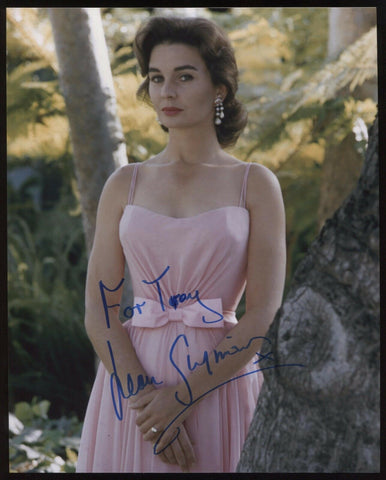 Jean Simmons Signed 8x10 Photo Autographed Photograph Vintage Signature