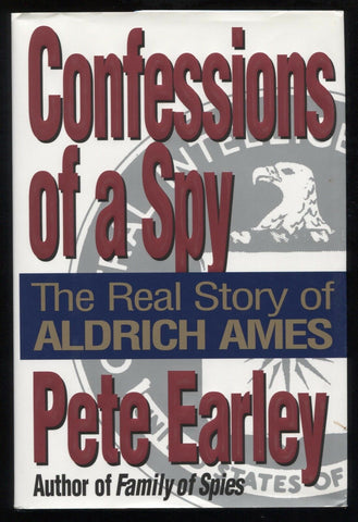 "Pete Earley Signed Book ""Confessions of a Spy"" Autographed Signature"