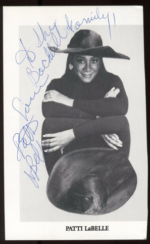 Patti LaBelle Signed Photo Vintage Autographed from 1991 AUTO