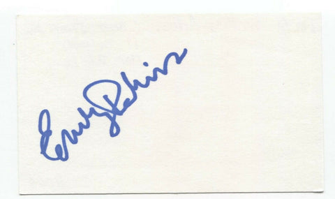 "Emily Perkins Signed 3x5 Index Card Autographed Signature Actress ""It"""
