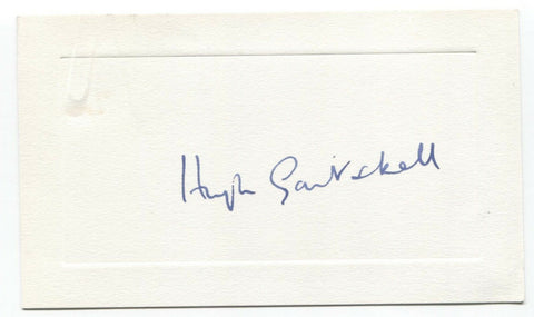 Hugh Gaitskell Signed Card Autographed Signature British Politician (d.1963)