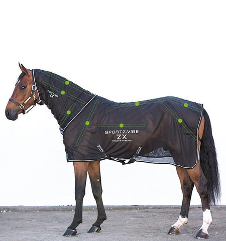Sportz-Vibe ZX Wireless Massage Therapy Rug for Horses