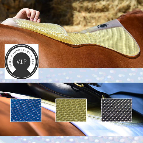 The VIP Saddle Pad - Thin and Extremely Effective!