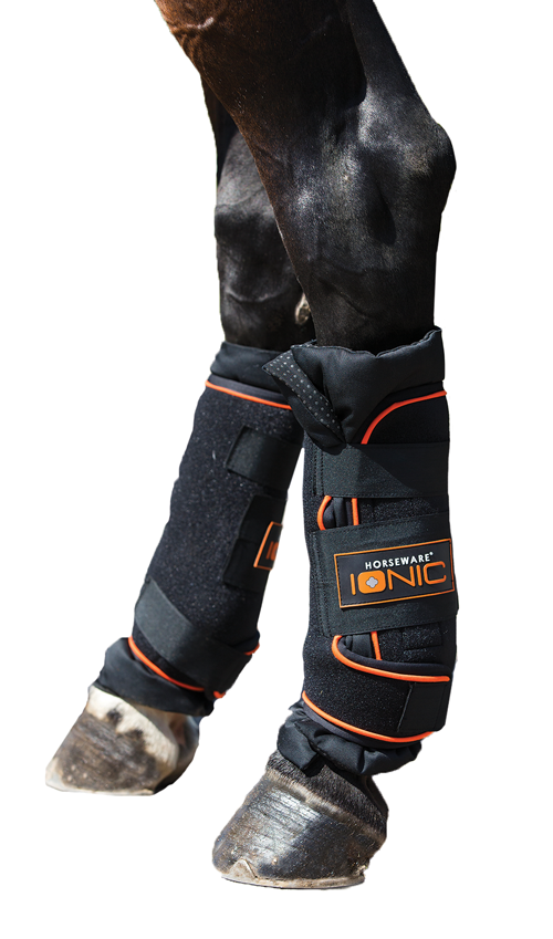 Rambo Ionic Therapy Horse Boot Extra Full Size Black Orange RJszwGLMLj