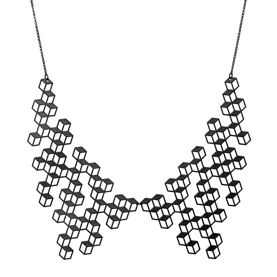 The Aggregate Collar Necklace by Aroha Silhouettes