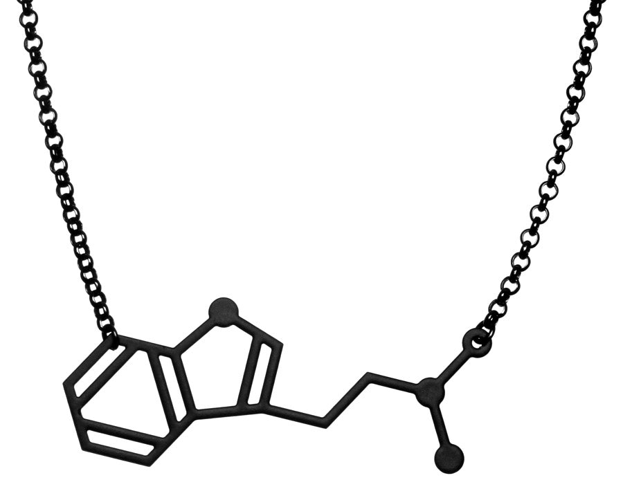 Aroha Silhouettes Men's DMT Molecule Necklace