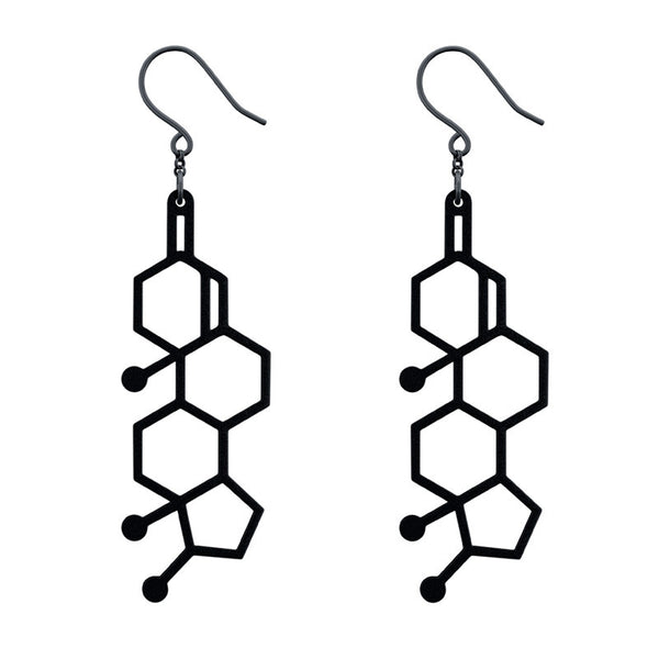 Testosterone Earrings
