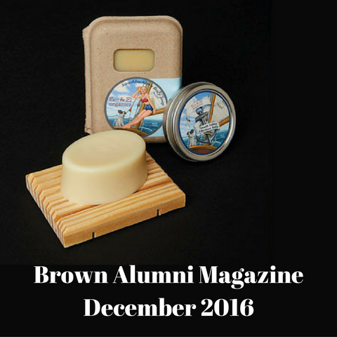 Brown University Alumni Magazine Holiday Gift Guide 2016 | Em & El Organics