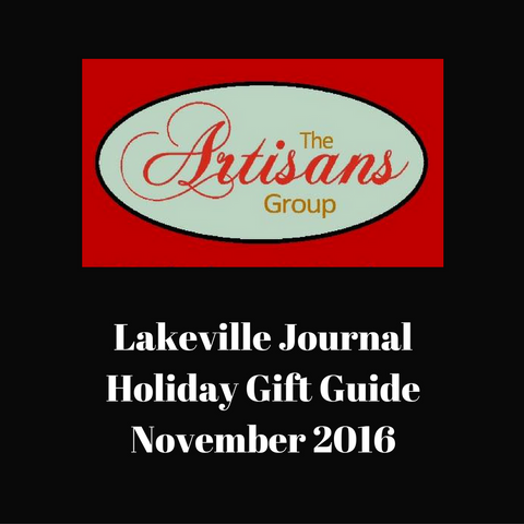 Lakeville Journal Holiday Gift Guide Writeup 2016 | Em & El Organics