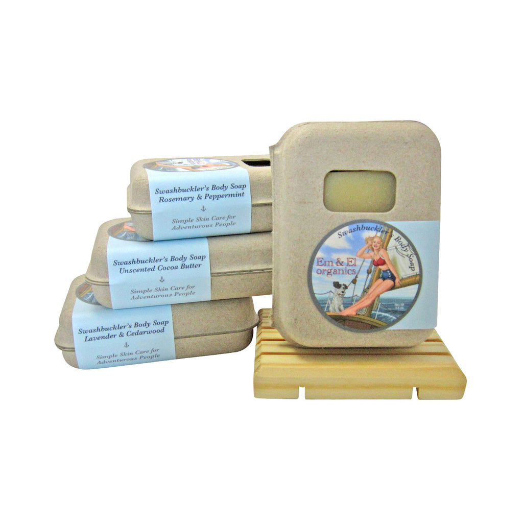 Organic Palm Oil Free Luxurious Body Soap in 4 Scents