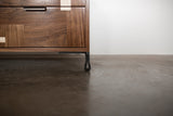 Patchwork Walnut Credenza w/ Fairmont Hairpin Feet and Maple accents - kith&kin makers  - 4