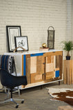 Patchwork Credenza - Mixed Species - kith&kin makers  - 2