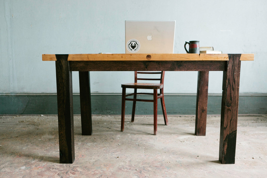 Dovetail Work Table - kith&kin makers  - 1