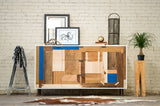 Patchwork Credenza - Mixed Species - kith&kin makers  - 3