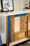 Patchwork Credenza - Mixed Species - kith&kin makers  - 4