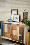 Patchwork Credenza - Mixed Species - kith&kin makers  - 5