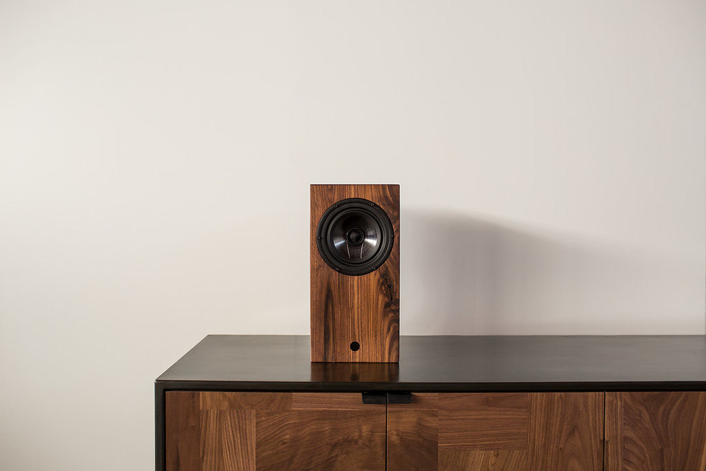 AirPlay Bluetooth Speaker - Walnut - kith&kin makers  - 1