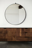 Fairmont Round Mirror - Large - kith&kin makers  - 2