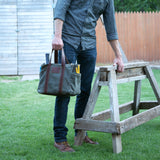 Waxed Canvas Tool Bag - kith&kin makers  - 1