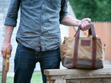 Waxed Canvas Tool Bag - kith&kin makers  - 2