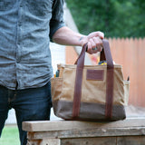 Waxed Canvas Tool Bag - kith&kin makers  - 4