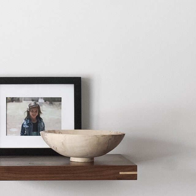 Walnut Floating Shelf - kith&kin makers