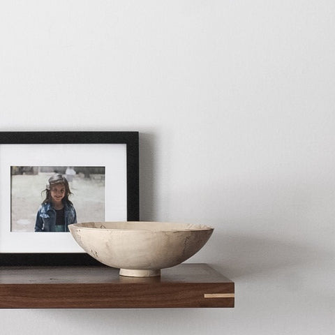 Walnut Floating Shelf