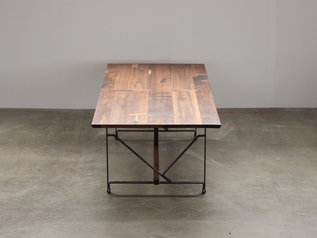 Fairmont Walnut Dining Table - kith&kin makers  - 1
