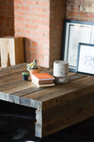 Rustic Modern Coffee Table - kith&kin makers  - 5