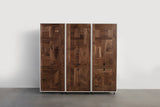 Patchwork Walnut Wardrobe - kith&kin makers  - 6