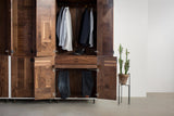 Patchwork Walnut Wardrobe - kith&kin makers  - 7