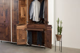 Patchwork Walnut Wardrobe - kith&kin makers  - 9