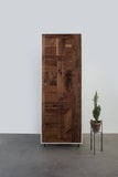 Patchwork Walnut Wardrobe - kith&kin makers  - 4