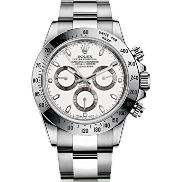 Rolex Cosmograph Daytona Stainless-Steel Watch