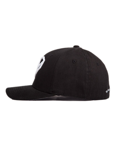 Fitted Heart Logo Hat