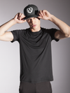 Strongbody Fitted Hat in Midnight Black