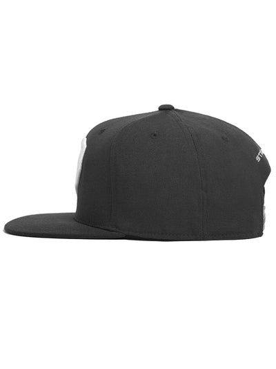 Carbon Black Snapback Hat - Strongbody Apparel  - 3