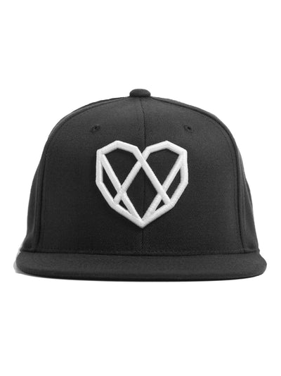 Carbon Black Snapback Hat - Strongbody Apparel  - 2