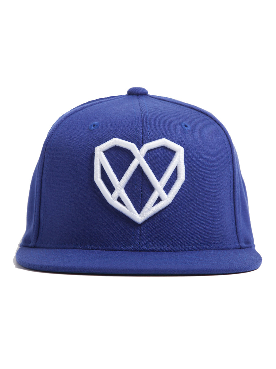 Tidal Blue Snapback Hat - Strongbody Apparel  - 1