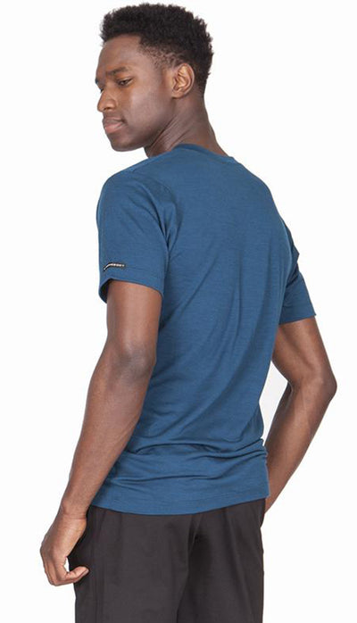 Ultrafine Merino Crew Neck - Moroccan Blue
