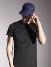 Monochrome Blue Snapback Hat - Strongbody Apparel  - 1