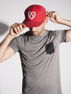 Fire Engine Red Snapback Hat - Strongbody Apparel  - 1
