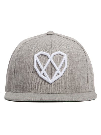Diamond Heart Strongbody Logo Snapback Hat