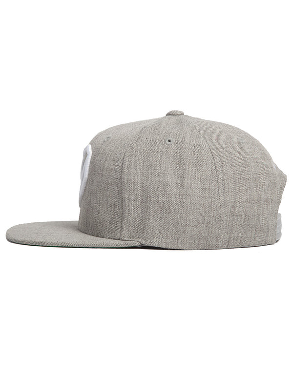 Avalanche Grey Snapback Hat - Strongbody Apparel  - 5