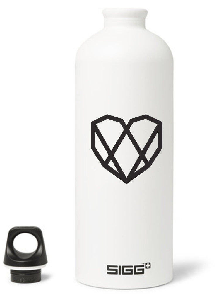 SBA Imprinted Heart Water Bottle - Strongbody Apparel