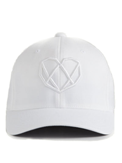 White Logo Hat - Strongbody Apparel  - 2